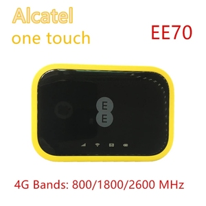 Unlocked Alcatel ee70 4G Wifi player 4G 300Mbps 2150mAh battery 802.11ac Wifi 4G LTE 300Mbps Mobile Hotspot Pocket router