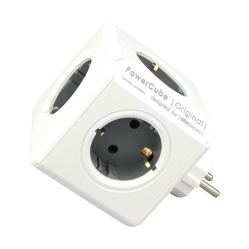 Alocacoc gniazdo usb listwa zasilająca ue KR przejściówka adapter 4 inteligentna wtyczka gniazdka PowerCube elektryczne 250V 3680W rozszerzenie home Office