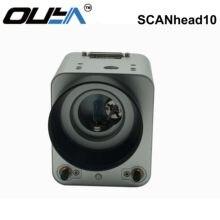 Бесплатная доставка OUYA Galvo двойная инфракрасная вспомогательная фокусировочная головка Galvo 1064 нм Волоконно-Лазерная сканирующая головка 10