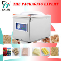 Vacuum Sealing Machine Food Vaccum Sealer Packing Machine Big Pump Chamber Pouch Bags Food Rice Meat Fish Tea CE Free Shipping