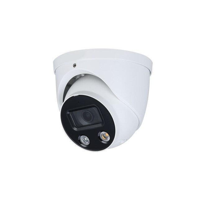 CCTV 4MP كامل اللون WizSense IP كاميرا IPC HDW3449H AS PV مدمج في هيئة التصنيع العسكري نشط الردع ثابت البؤري مقلة العين كاميرا شبكة مراقبة