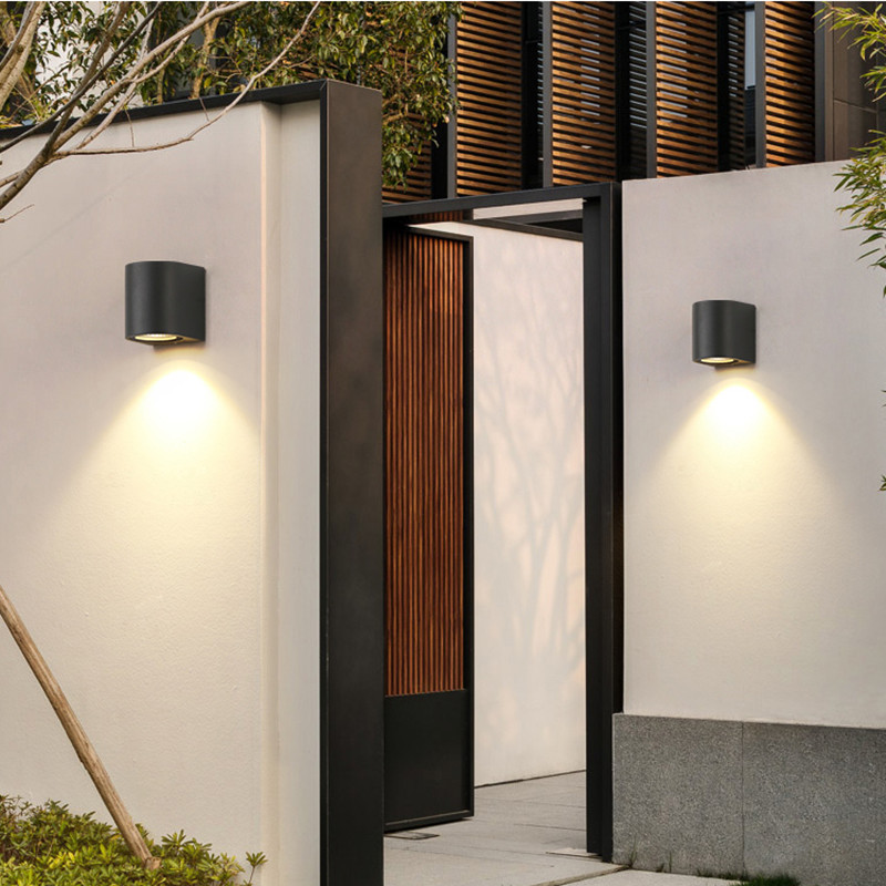 5W LED Wall Lamp IP65 Waterproof Indoor Outdoor Aluminum Wall Light Surface Mounted Cube LED Garden Porch Light Staircase Light
