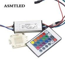 Блок питания для трансформатора RGB и светодиодный чип RGB высокой мощности, безопасный блок питания, 10 Вт 20 Вт 30 Вт 50 Вт 100 Вт