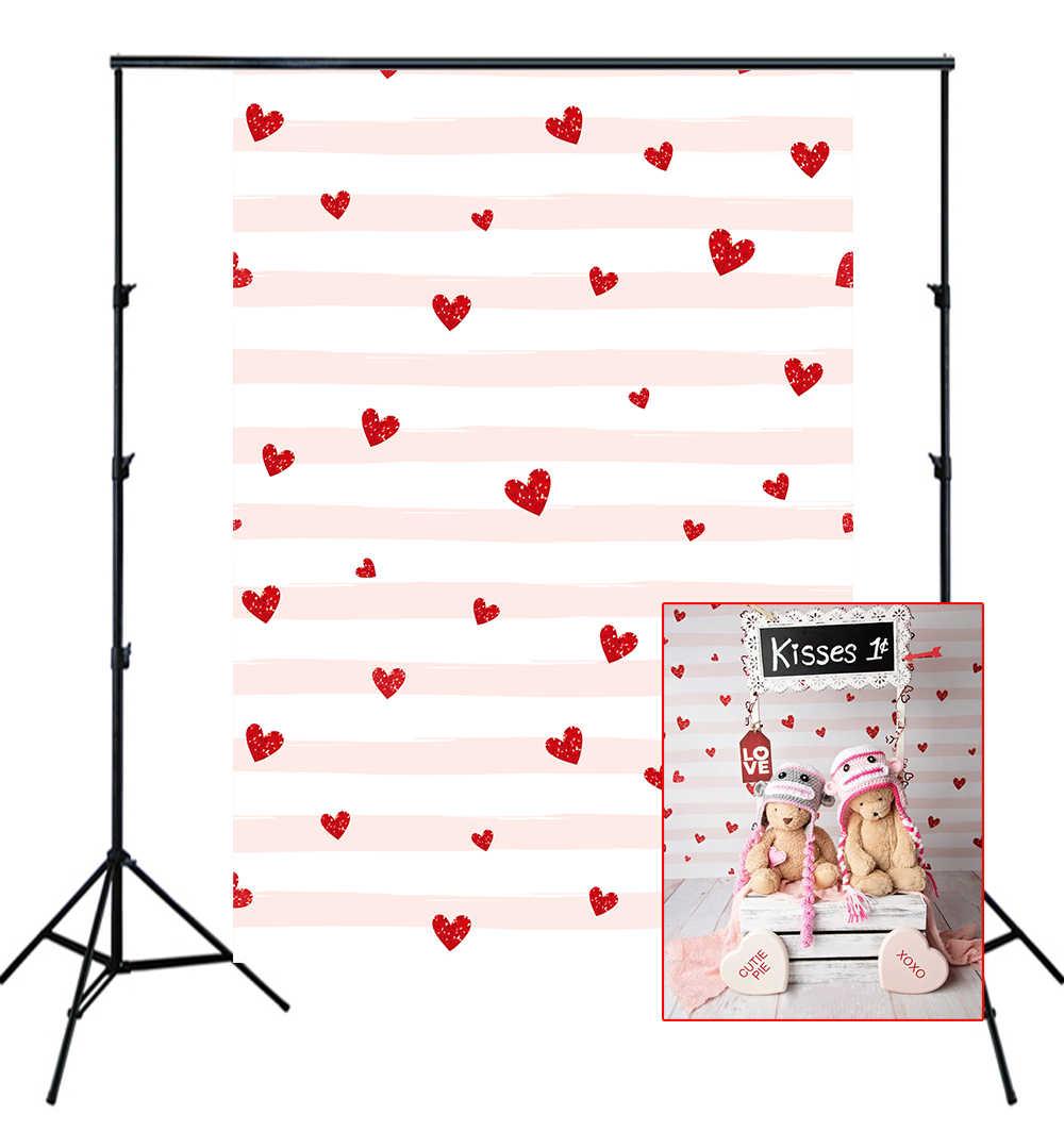 HUAYI التصوير خلفية الحب الحب القلب كابينة تصوير خلفية تخصيص حديثي الولادة الطفل عيد ميلاد استوديو خلفية XT-5646