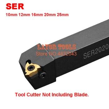 1 sztuk SER1010H11 SEL1616H16 SER1212H16 SER1616H16 SER2020K16 SER2525M16 CNC zewnętrzne narzędzie do toczenia gwintów pręt darmowa wysyłka