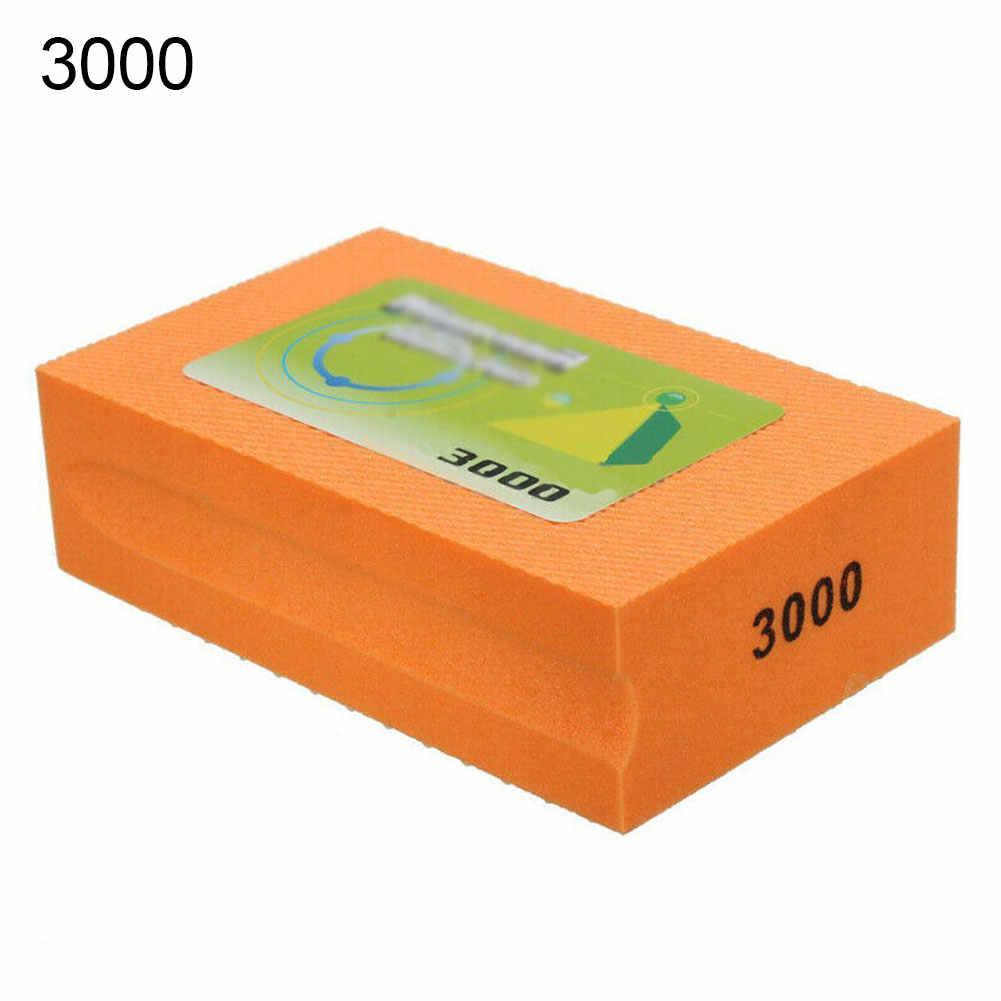 60-3000 bloc de tampon de polissage de main de diamant de grain pour le meulage de verre de marbre de granit