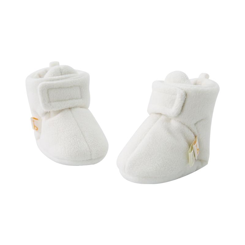 Pureborn Newborn Baby Shoes Warm Fleece