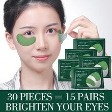 Eye-Mask Gel-Patches Nicotinamide Seaweed Moisturizing-Remover Crystal Dark-Circles Anti-Wrinkle