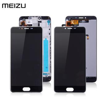 מקורי תצוגת לmeizu M5 תצוגת מסך מגע Digitizer עם מסגרת Digitizer M611h LCD לmeizu M5 LCD החלפת מסך