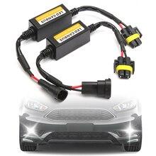 2x H11 phare LED Canbus Anti scintillement sans erreur résistance annuleur décodeur