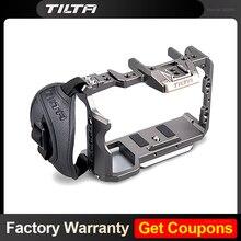 Tilta TA T17 A G gaiola de equipamento e alça focu lateral para sony a7ii a7iii a7s a7s ii a7r ii a7r iv a9 gaiola de equipamento para câmera da sony a7/a9