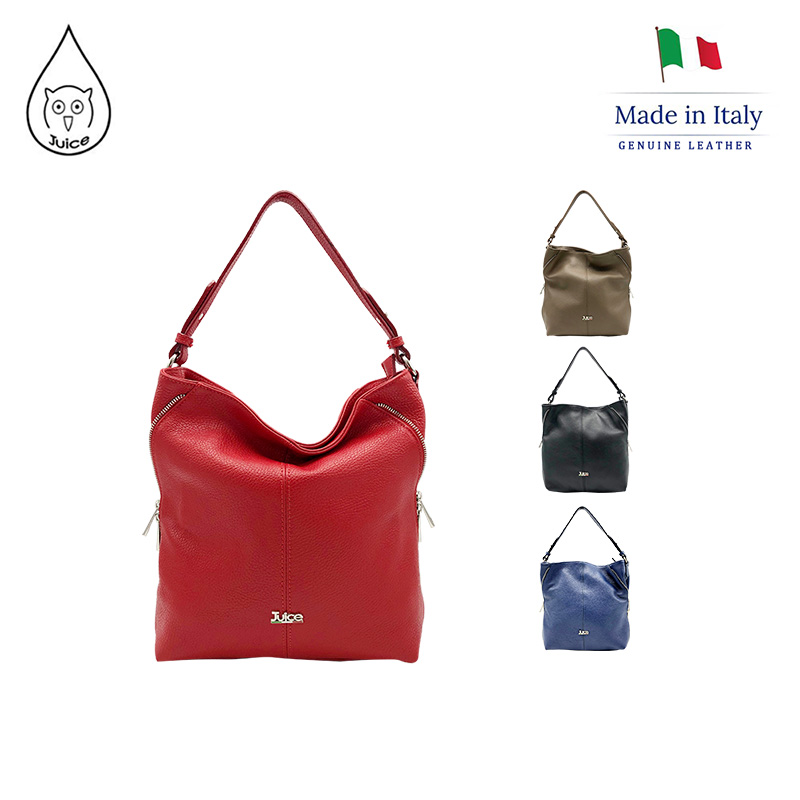 JUICE ,made In Italy, Genuine Leather, Women Bag,handbag,dollaro Leather Soft Leather,112172