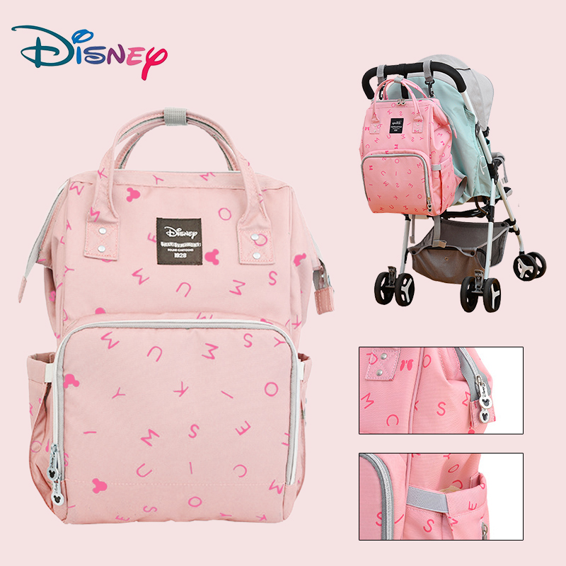 Disney Orignal Brand Maternal Bag For Nappies Fashion Large Capacity Multifunction Baby Bag For Mom Diaper Backpack For Travel