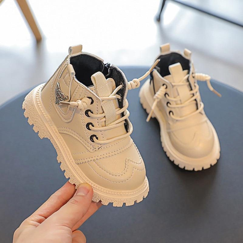 2021 botas de couro quente para criancas 01