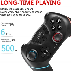Image 5 - Gamepad Wireless Bluetooth For Switch Console with 6 Axis Handle Game joystick Controller For Nintend Switch Pro NS Switch Pro