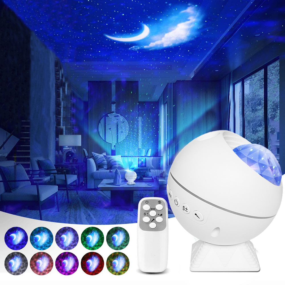Galaxy Starry Sky LED Laser Projector Night Lamps Novelty Lightings