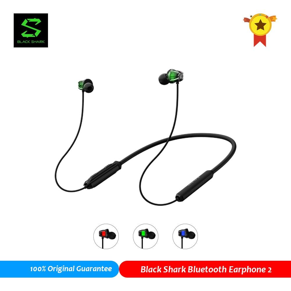 100% Оригинальные черные акулы Bluetooth 5 наушники 2 с Hi-Fi звуком, беспроводные Bluetooth наушники, Спортивная игровая гарнитура