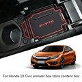 2019 Замена для Honda Civic 10th Gen 2016-2018 подлокотник коробка Органайзер лоток для телефона монеты кошелек коробка для хранения поддон вставка