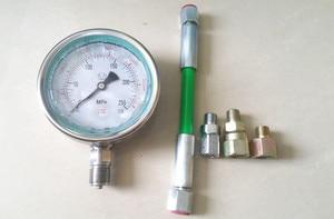 Image 1 - Testeur haute pression à rampe commune 0 250Mpa pour circuit dhuile diesel, piston à rampe commune, jauge de test de pression de tuyau à rampe commune