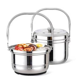 Soup Pot Stainless Steel Inner Tank Free of Fire and Then Cook Pot Pot Soup Pot Energy-saving Pot Insulation Pot Porridge Pot