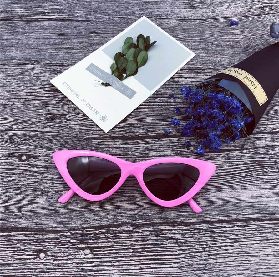 Seksowne okulary przeciwsłoneczne cat eye kobiety marka projektant lustro czarny trójkąt okulary przeciwsłoneczne kobiece odcienie obiektywu na okulary damskie UV400