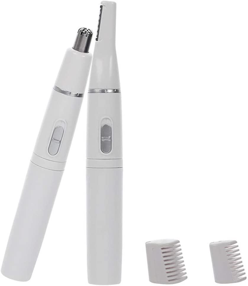 4 In 1 Head Battery-Powered Hair Clipper Nose Hair Trimmer For Women Men Ear Hair Eyebrows Beard Nose Hair Removal