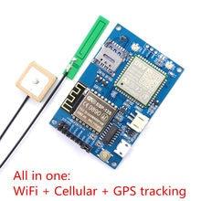 Elecrow ESP8266 ESP-12S A9G GSM GPRS + GPS IOT V1.0 Node Módulo Placa de Desenvolvimento IOT com Tudo em um Wi-fi celular GPS tracking