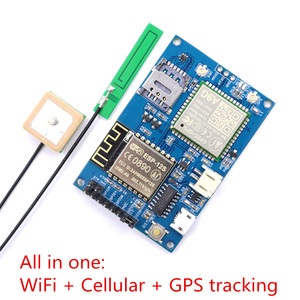 Image 1 - לelecrow ESP8266 ESP 12S A9G GSM GPRS + GPS IOT צומת V1.0 מודול IOT פיתוח לוח עם כל אחד WiFi סלולארי GPS מעקב