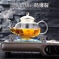 Высококачественный термостойкий стеклянный цветочный чайный горшок  практичная бутылка стеклянный чайный чайник с заваркой чайный лист т...