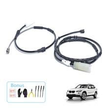 Автомобильные аксессуары замена тормозных колодок датчик износа передний и задний Совместимость с BMW X1(2013