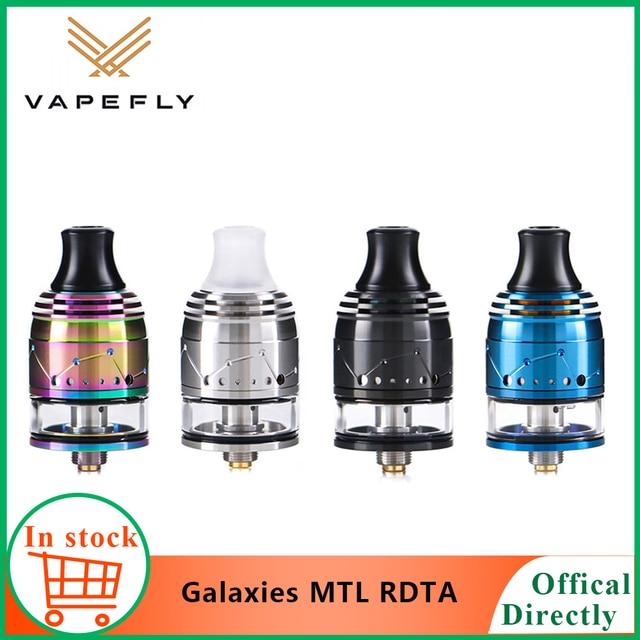 Vapefly Original, galaxias MTL Squonk RDTA con Firebolt, algodón, 2ml de capacidad, 22mm, RDTA MTL, relleno superior/parte inferior, cigarrillo electrónico, vaporizador