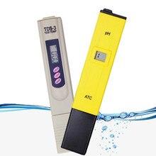 2 PCS PH Tester TDS Meter Pen Water Purity PPM Filter Hydroponic Monitor Pool Aquarium 1pcs PH Meter+1pcs TDS Tester 48%off