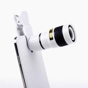 Long Telephoto Mobile Phone Lens Universal 8 Times Long Telephoto Lens Ultra-clear Photography Eight Times Lens Travel Photo