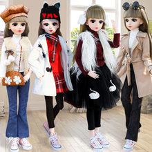 60cm grande moda menina boneca brinquedo decoração móvel articulado diy inteligente princesa boneca conjunto interativo manequim modelo menina presente