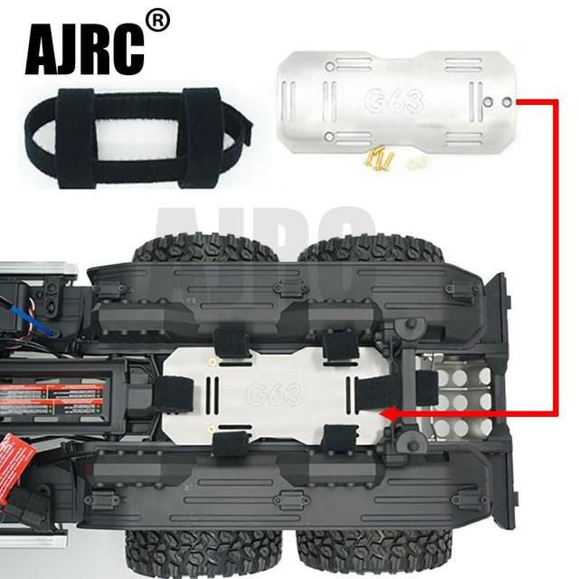 Stainless Steel Secondary Battery Compartment For TRAXXAS TRX6 G63 6X6 RC Car Upgraded Parts Battery expansion bracket