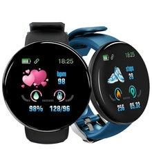 Смарт часы reloj d18 спортивные с цветным экраном 2020 дюйма