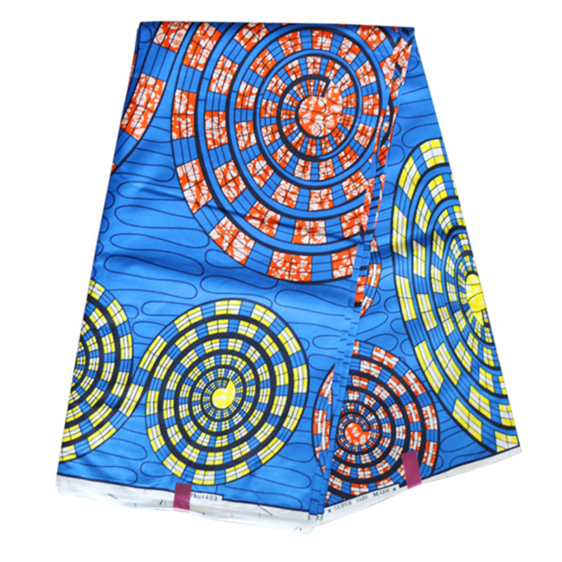 2019 Wax Fabric High Quality African Fabric Guaranteed Real 100% Cotton African Pagne Olandese Wax Java
