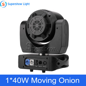 Image 2 - Stage Light Moving Head Lighting 1*40W RGBW 4in1 +76*0.2W SMD RGB Moving Onion for Disco Event Bar Party Decoration
