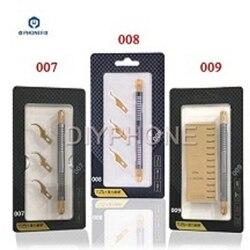 Telefon układ BGA usuń narzędzie qianli ostrze klej ostrze skrobaka zestaw BGA klej do czyszczenia nóż do telefonu komórkowego narzędzie do naprawy płyty głównej w Zestawy narzędzi ręcznych od Narzędzia na