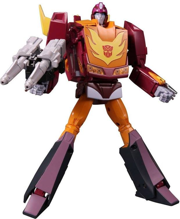 Takara Tomy Transformers Robots MP-40 <font><b>MP40</b></font> Hot Rod Deformation Action Figure Toy Collectible image