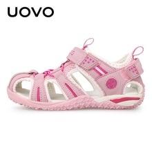 Uovo Kids School Beach Sandals Girls Shoes Children For Boys 2019 Summer Shoe 2 3 4 5 6 7 8 9 10 11 12