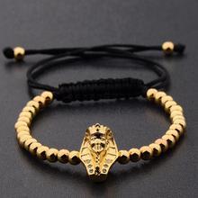 France Egypt Couple Bracelet Jewelry Alloy Color Silver Colo