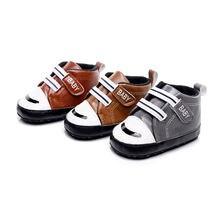 Туфли для новорожденных обувь первых шагов на шнуровке Нескользящие