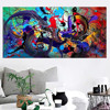 Modern Colorful Abstract Canvas Print Art Oil Painting Wall Picture Home Decor Unframed study hallway living room decor gifts F1 2