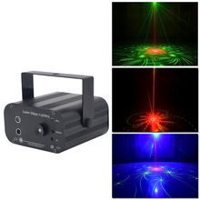 YSH dj light Laser Disco Lighting effect Mini Projector Light stobe led bar Party Lights Projector RGB Stage for Club ball part 4pcs stage light led disco light 10w dj laser projector mercury lamps festival bar club party disco strobe lights party lights