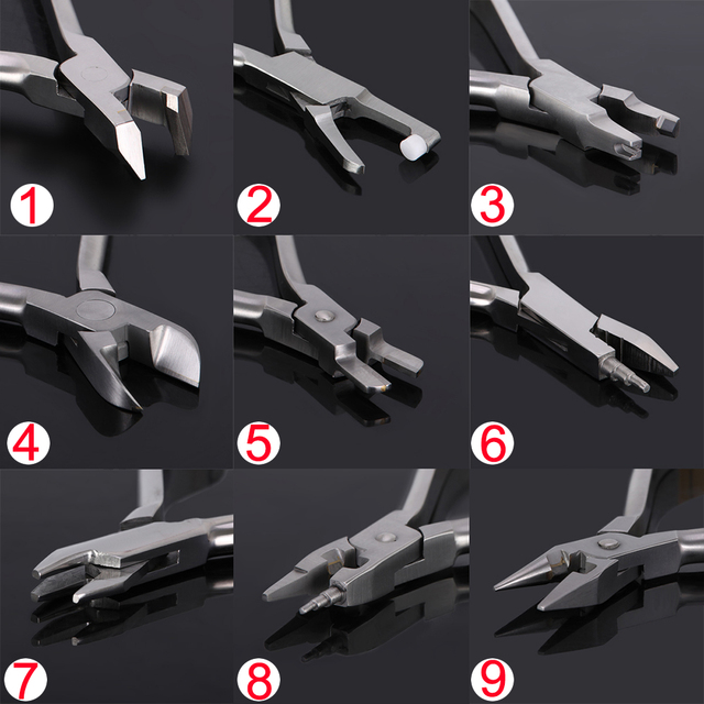 Dentist Pliers Distal End Cutter Stainless Steel Orthodontic Plier  Dental Instrument Tools Jaws Arch Cutting Orthodontic Cutter 1