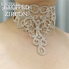 Bohemian Women Luxury Necklace Vintage Flower Necklace Collar Fashion Exquisite Jewelry Accessories Party Banquet Gifts