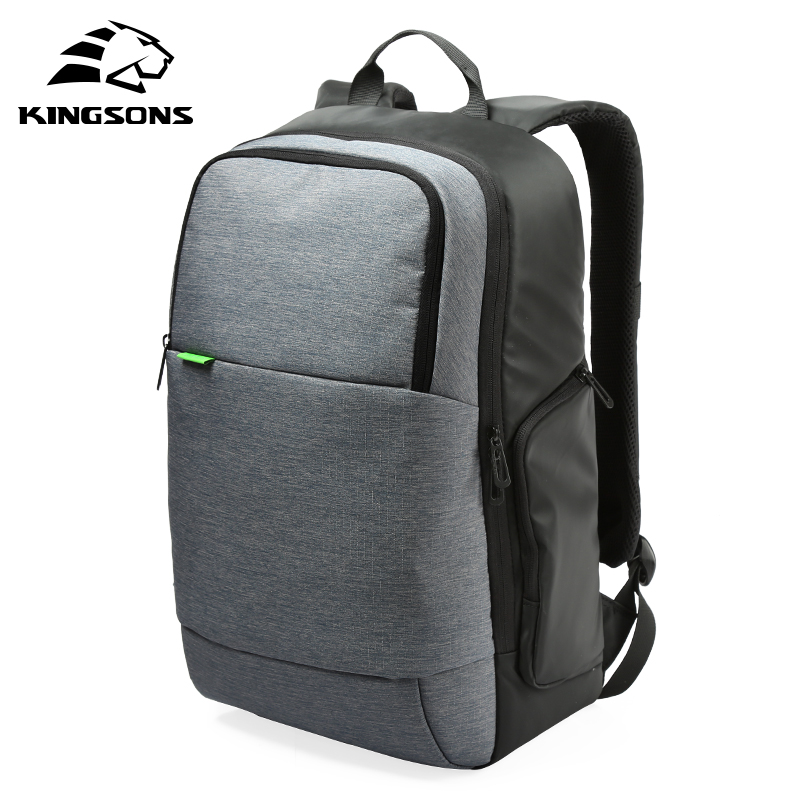 Kingsons Brand External USB Charge Travel Backpack Anti-theft Computer Bag For 15.6 inch Laptop Women Casual Backpacks