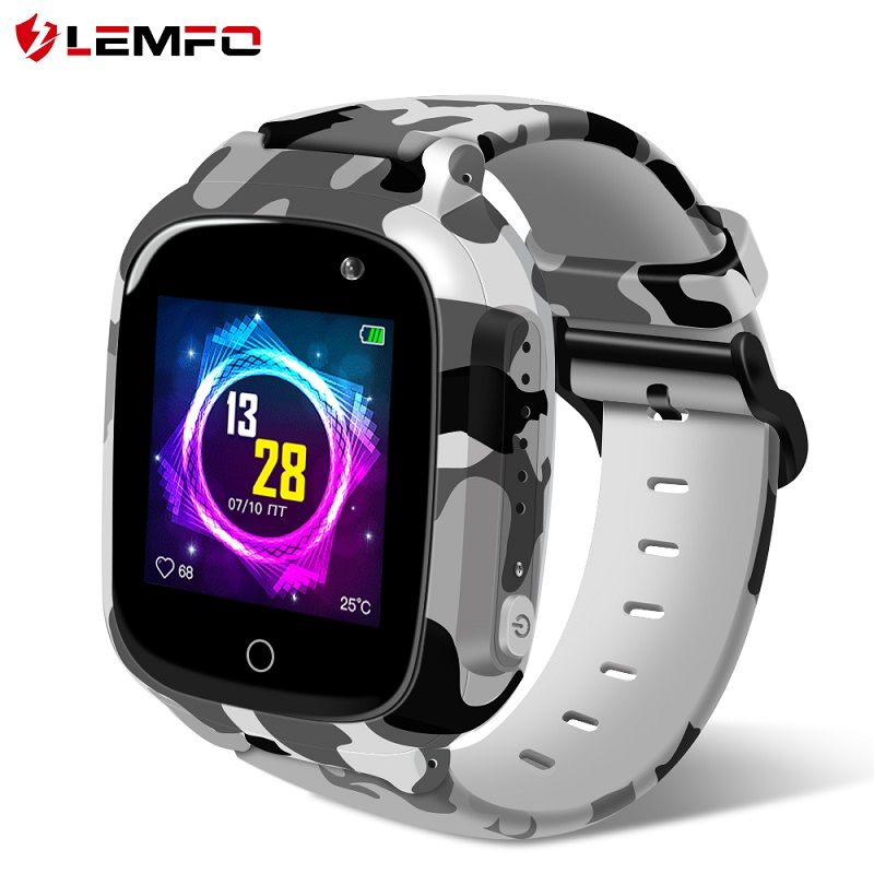 LEMFO Kids Smart Watch Kids Watches Support GPS WIFI Camera Voice Chat LEC2 Pro Smart Watch Christmas Gift for Children|Smart Watches|   - AliExpress