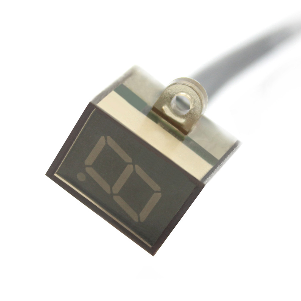 KKMOON Универсальный водонепроницаемый дисплей для мотоцикла с кабелем 0-6 Положение шестерни светодиодный цифровой дисплей спидометр